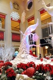 Holiday Display at Palazzo