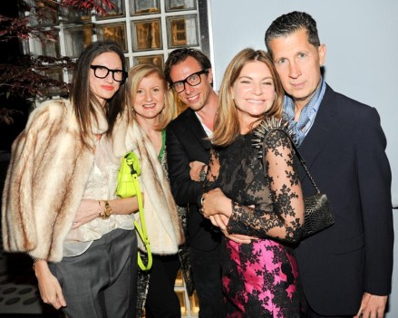 Jenna Lyons, Arianna Huffington, Erik Torstensson, Natalie Massenet, Stefano Tonchi