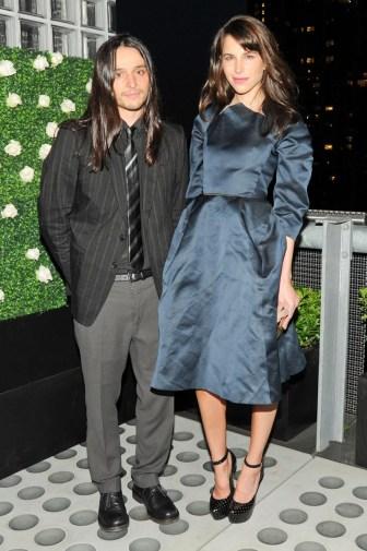 Olivier Theyskens & Caroline Sieber