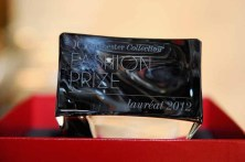 Baccarat Trophy for 2012 Dorchester Collection Fashion Prize