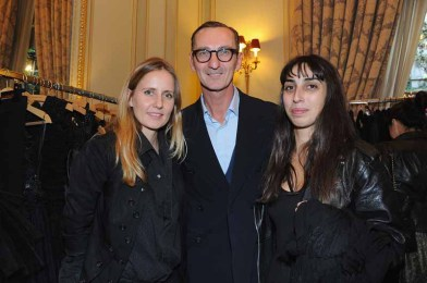 Bruno Frisoni, Odely Teboul and Amelie Angustin