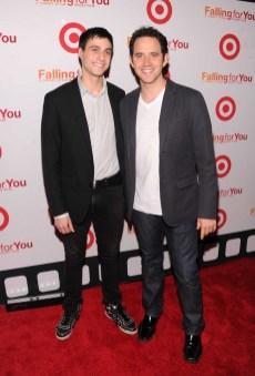 Gideon Glick and Santino Fontana