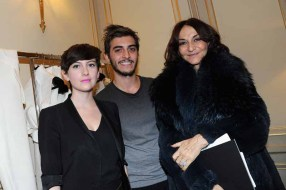 Nathalie Rykiel, Pierre Alexis Hernet and Marion Lalanne