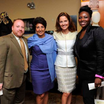 James Talbot, Jeanette Nostra, Jes Wade, and Mimi Plange