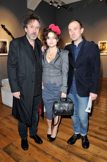 Tim Burton, Helena Bonham-Carter, Tim Walker