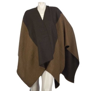 Woven Color Block 32 x 52 Cape by VT Luxe