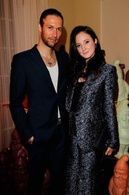 Andrea Riseborough and Joe Appel