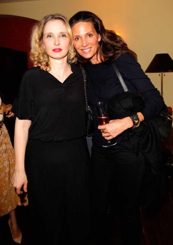 Julie Delpy and Kendall Conrad