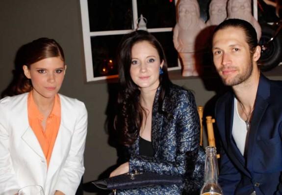 Kate Mara, Andrea Riseborough and Joe Appe