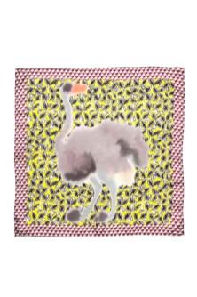 MARNI Saturday Morning Foulard Ostrich