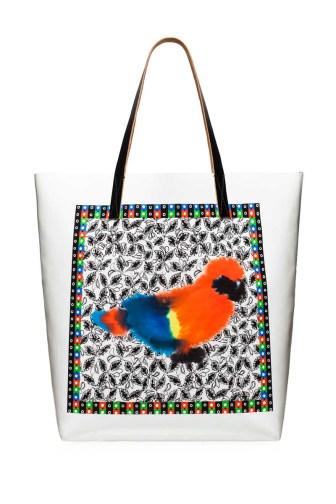 MARNI Saturday Morning Shopping bag Parrot