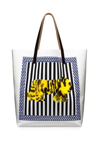 MARNI Saturday Morning Shopping bag Tiger