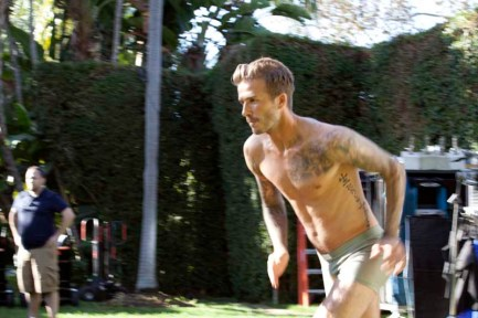 David Beckham Bodywear S13 Campaign 08