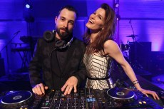DJ Mike Nouveau and Hanneli Mustaparta