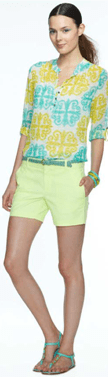 """""""MILLY Banana Republic Collection"""""""