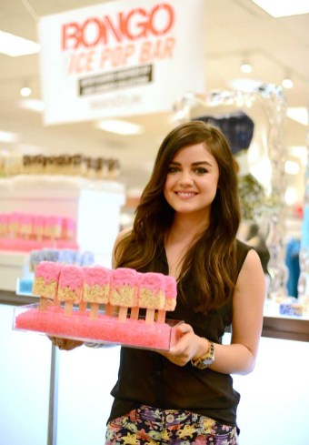 Lucy Hale for Bongo