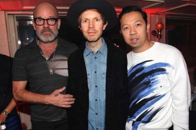 Michael Stipe, Beck and Humberto Leon