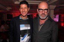 Mike D and Michael Stipe