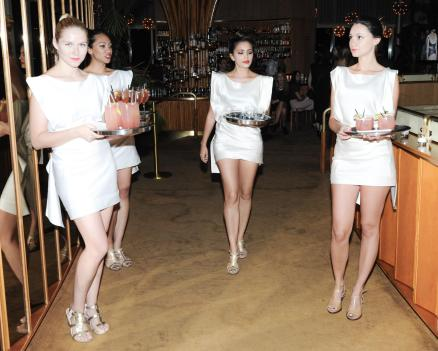 """""""BCBGMAXAZRIA Runway and Herve Leger by Max Azria Spring 2014 exclusive after party"""""""