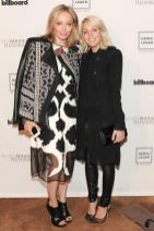 """""""Marine Azria and Lubov Azria at the BCBGMAXAZRIA Runway and Herve Leger by Max Azria Spring 2014 exclusive after party"""""""