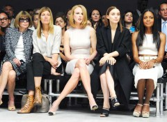 Anna Wintour, Virginia Smith, Nicole Kidman, Rooney Mara, Naomie Harris