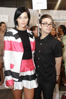 Leigh Lezark and Christian Siriano