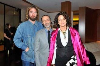 Colin Donahue, Roman Alonso and Lisa Eisner