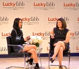 """Eva Chen and Gillian Gorman Round at Lucky FABB 2013"""