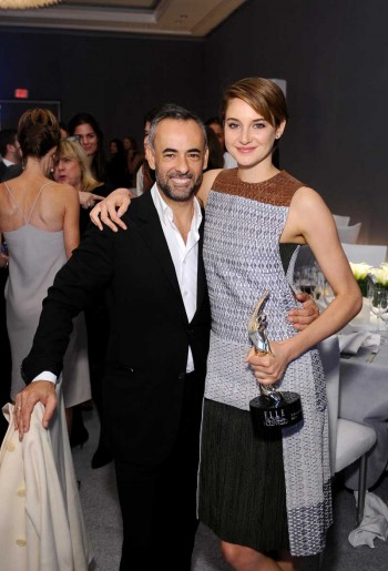 Francisco Costa and Shailene Woodley