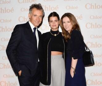 Geoffroy de la Bourdonnaye, Pixie Geldof and Clare Waight Keller