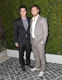 James Ireland (L) and Alex Pettyfer