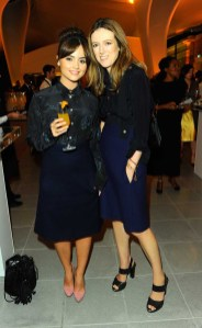 Jenna Coleman and Clare Wright Keller