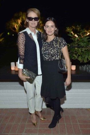Lisa Love and Nathalie Love
