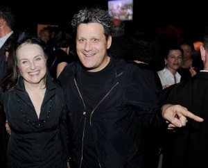 Patricia Underwood and Isaac Mizrahi