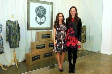 Andrea Isom and Nina Lowe