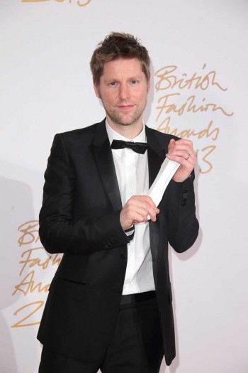 Christopher Bailey MBE (Burberry) (winner, Menswear Designer of the Year and Brand of the Year)