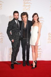 Jack Guinness, Harry Styles (winner, British Style Award Brought to you by Vodafone) & Alexa Chung