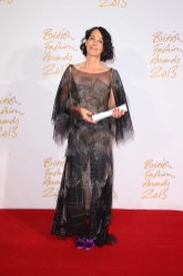 Lady Amanda Harlech (winner, Isabella Blow Award for Fashion Creator)