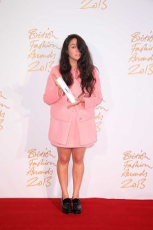 Simone Rocha (winner, Emerging Womenswear Designer)