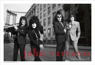 John Varvatos SS14 KISS Spread1