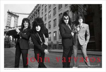 John Varvatos SS14 KISS Spread1