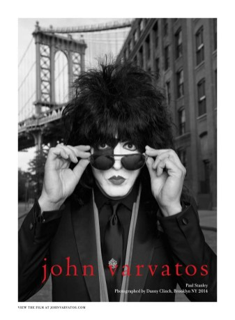 John Varvatos SS14 Paul Stanley