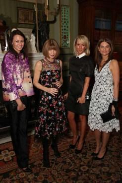 Caroline Rush, Anna Wintour, Julia Carey, Natalie Massenet