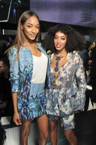 Jourdan Dunn, Solange Knowles