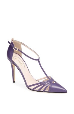 Carrie Pump Purple - $355