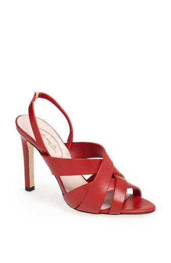 Stella Sandal Red - $375