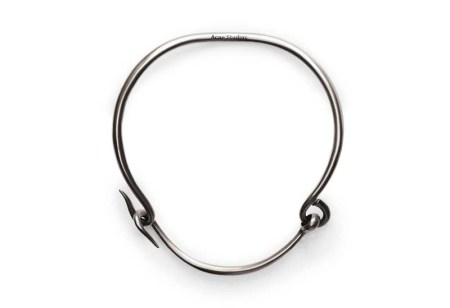 acne carena-silver-necklace