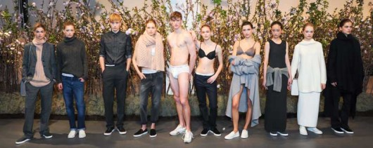 CALVIN KLEIN Presents Fall 2014 Men's and Women's Lines