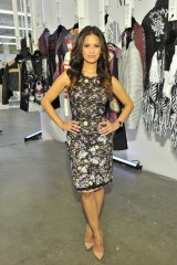 "Rocsi Diaz wears: BCBGMAXAZRIA ""Diane Sleeveless Shift Dress"" (AJK63A34)"