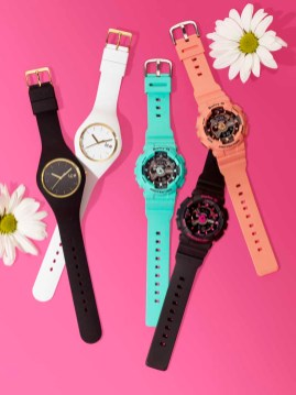 ICE WATCHES $99, BABY-G WATCHES $120